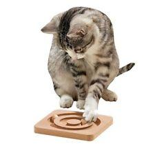 Karlie  Kitty Brain Train Roundabout Katzenspielzeug.