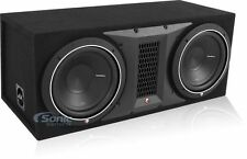 "Rockford Fosgate Punch P1 P1-2X10 1000W Dual 10"" Loaded Subwoofer Box"