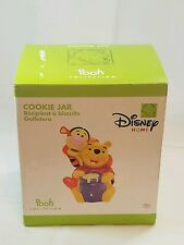 DISNEY HOME Winnie the Pooh and Tigger COOKIE JAR New In Box Pooh Collection