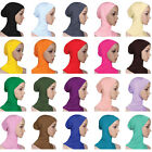 Hijab Ninja Underscarf Head Neck Cover Bonnet Hat Cap Under Scarf