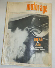Motor Age Magazine Clean The Air Anti Smoggers November 1967 020615R