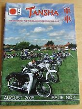 VJMC TANSHA MAGAZINE AUG 2005 #4 BRAZING OR BRONZE WELDING KETTERING GOODWOOD