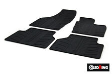 High Quality Black Rubber Tailored Car Mats - Audi Q3 8U (11 on) + Clips
