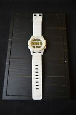 "Nixon Mens White The Unit ""Thats What She Said"" Watch"