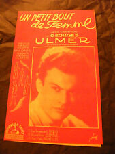 Partition Un petit bout de femme Georges Ulmer Editions Salvet