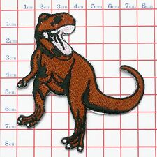T-REX DINOSAUR Embroidered Iron-On / Sew-On Logo Patch - NEW - Jeans Jacket Hat
