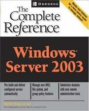 Windows Server 2003: The Complete Reference (Osborne Complete Reference Series)
