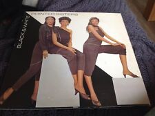 THE POINTER SISTERS - BLACK & WHITE RARE VINYL LP 1981 NM/VG (K52300)