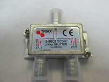 Triax 2 Way F-Type 5-2400 Mhz Splitter SCS 2 - 349802