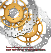 Floating Contour Brake Rotor Front Set for 2014 Suzuki GSXR750 50th Ann. Edition
