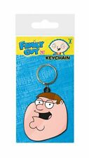 FAMILY GUY PETER FACE RUBBER KEYRING NEW 100% OFFICIAL MERCHANDISE