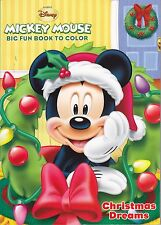 Disney Mickey Mouse Christmas Coloring Book ~ Christmas Dreams - FREE SHIPPING