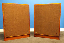 Rare Jensen 3-P/2 Super Slim Panel 4-Way Loud Speaker System Pair