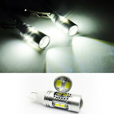 2x SAMSUNG 10 High Power LED T10 168 194 Projector Bulb DRL Signal Parking Light