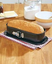 Springform Non-Stick Loaf Baking Pan Formed Cakes Breads Kitchen Bakeware