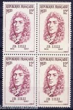 Jean-Baptiste Lully, Italian-born French composer, Music, MNH Blk 4  - Mu06