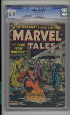 Marvel Tales #126 CGC 6.0 FN Unrestored Marvel PCH Pre Code Horror CR/OW Pages