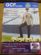 Jan-2014 Getafe: Official Magazine. Any faults with this item have been previous