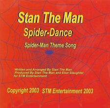 Stan The Man-Spider-Dance, Spider-Man Theme Song  CD NEW