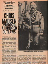 Chris Madsen, US Marshal Brings Law to Indian Territory