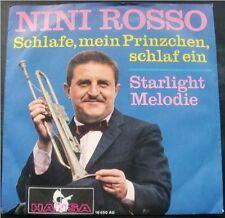 NINI ROSSO Schlafe, mein Prinzchen, schlaf ein, Hansa, Vinyl Single