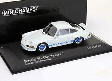 Porsche 911 Carrera RS 2.7 Baujahr 1972 weiß 1:43 Minichamps