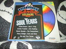 Casey Kasem's Rock n Roll Goldmine The Soul Years Laserdisc LD James Brown