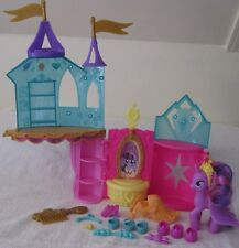 2012 Hasbro My Little Pony Crystal Castle +Twilight Sparkle~Nearly Complete set