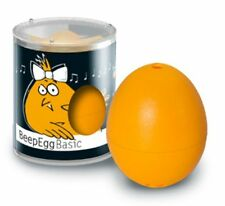 BrainStream BeepEgg Musical / Singing Floating Egg Timer - Basic Yellow