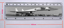"NORTH AMERICAN XB-70A VALKYRIE   6"" RULER 155MM X 29MM INSERT PHOTO (R647N)"
