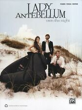 Lady Antebellum Own The Night Learn Play Cold as Stone Piano PVG Music Book