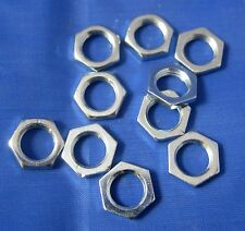 10mm steel hex nuts (pack of 10)
