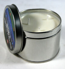 Survival Candle Emergency Wax Tri 3 Wick 36 Hour Light Outdoor Tin Wilderness