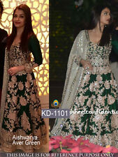Bollywood Designer Party Wear Long anarkali Gown Traditional Salwar Suit KD-1101