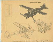 Meccano - modèle de la boite : N° 4  -5 - 6