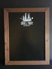 Small Town Brewery Not Your Fathers Root Beer Menu Chalk Board NEW In Box ~ Wood