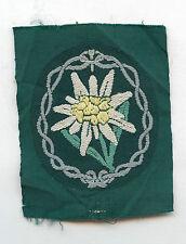 Original Wehrmacht Heer Ärmelabzeichen für Gebirgsjäger 3. Reich 2. Weltkrieg