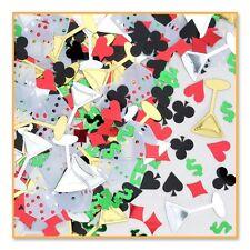 Casino Printed Confetti - Poker Night Table Confetti 14g - Party Decoration