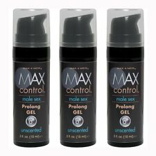 3 Max 4 Men Max Control Male Sex Prolong Gel Delay Lube Desensitizing Lubricant