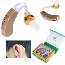 Best Digital Hearing Tone Aids Aid Behind The Ear Sound Amplifier Adjustable New