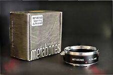 Minty / Boxed Metabones Professional ALPA to Micro 4/3 Adapter - Scarce