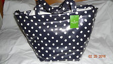 Kate Spade Anabel Navy/Clotted Cream Dizzy Dot Tote Bag  WKRU1393 Brand New