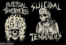 SUICIDAL TENDENCIES cd lgo OG FLIP SKULL FLAMES Official SHIRT MED new