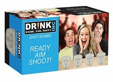 Bomb Shot Set Brand New Drinking Game Novelty Gift Fun Party Alcohol American
