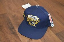 Vintage VTG New CCM Michigan Wolverines Football Spell Out Crest Snapback Hat