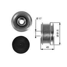 OEM Freewheel Pulley Engine Part Replace Replace VW Crafter 30-35 06-15 2.5Tdi