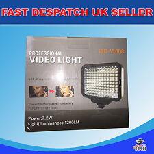 Professional LED video light DSLR Camcorder Nikon Canon