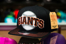 American Needle San Francisco Giants Big Logo Snapback Hat