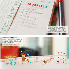 6 Sheets DIY Book Wall paper Stickers Diary Scrapbook Decoration Photo Skin EW