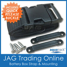 AQUATRACK BATTERY TIE DOWN STRAP - Boat/Marine/Caravan/Hold Fuel Tank/Box Holder